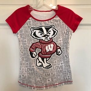 Other - Wisconsin Badger T-Shirt - Never Worn!